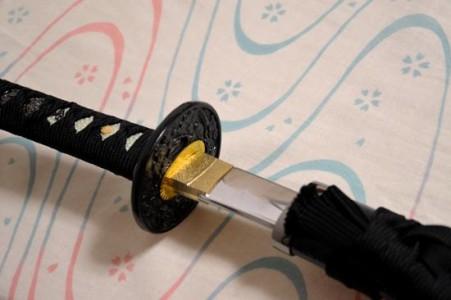 鈴木さん 模擬刀